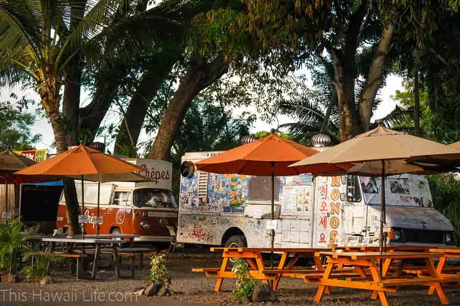 Giovanni's food truck in Haleiwa