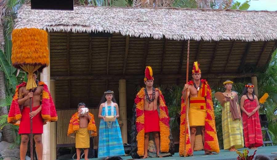 Polynesian-Cultural-center in Oahu