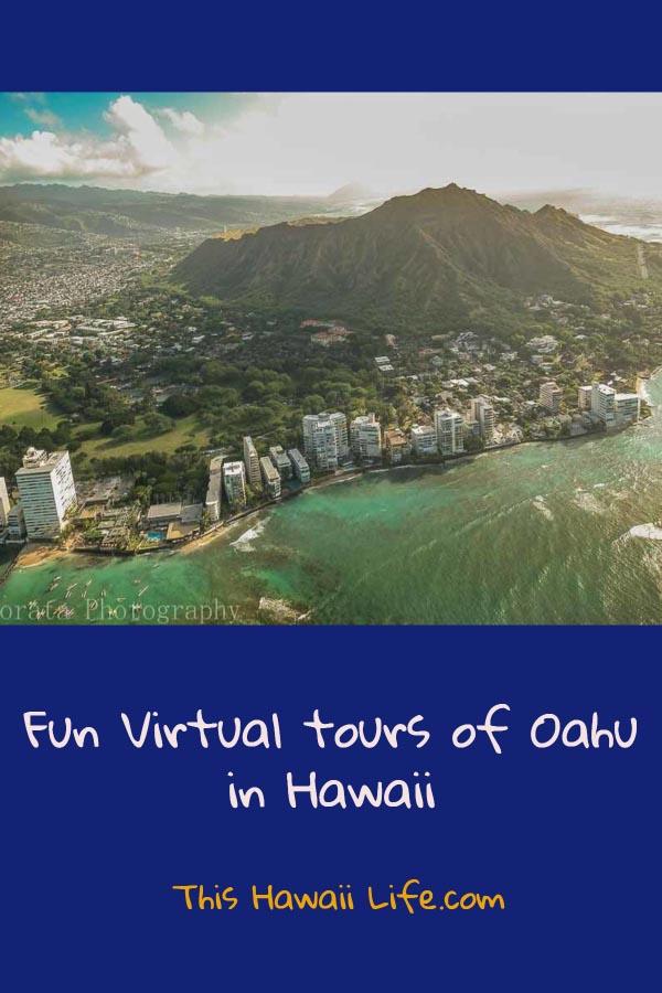 Pinterest Virtual tours of Oahu in Hawaii