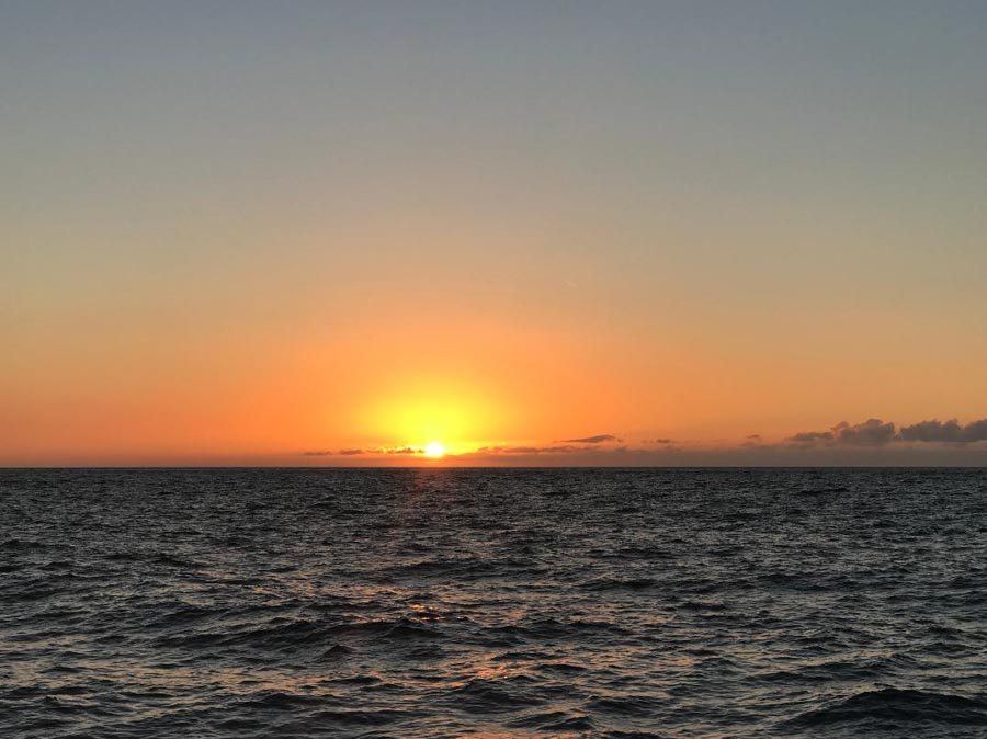 Take a sunset cruise in Hawaii