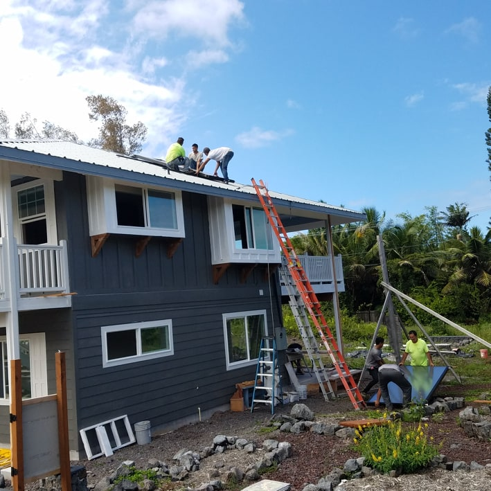 Going solar install in Hawaii