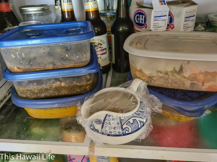 Use excess food or save and store it in an Eco friendly kitchen