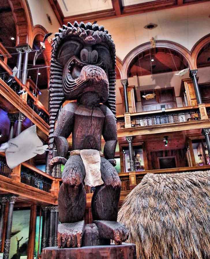 Experience Hawaiian history at the Bishop Museum
