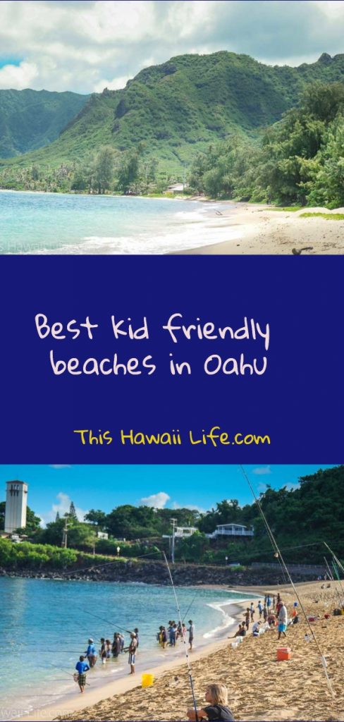 Pinterest kid friendly beaches in Oahu to visit