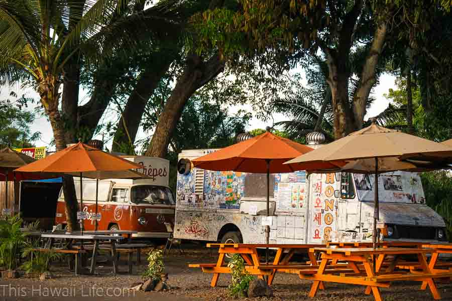 Giovanni's food truck in Haleiwa