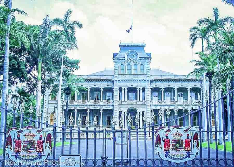 Visit historic Honolulu in Oahu