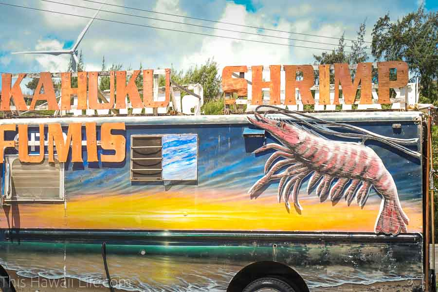 Eat at popular and cheap food trucks in Hawaii