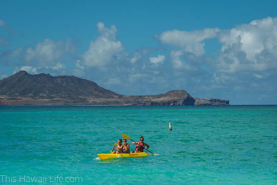 Kayaking in Oahu Hawaii