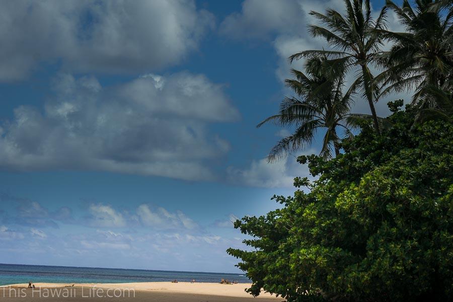 Pupuke'a beach park