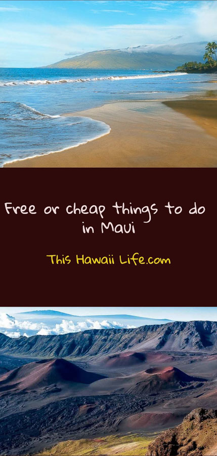 pinterest free or cheap things to do in Maui