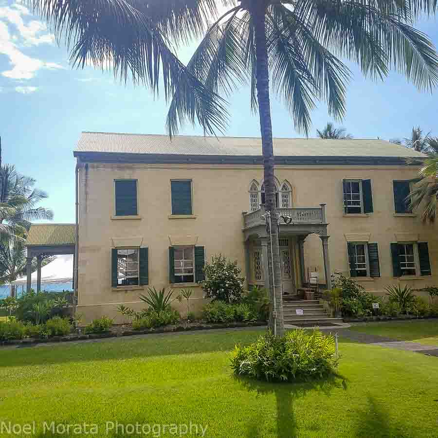 Exploring the historic district of Kona