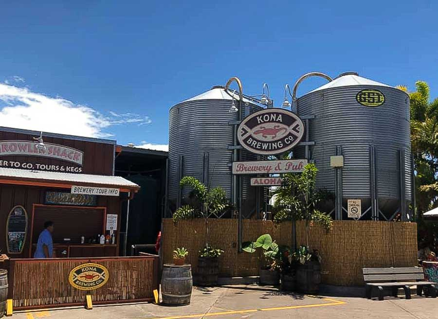Hang out at a craft brewery in Kona