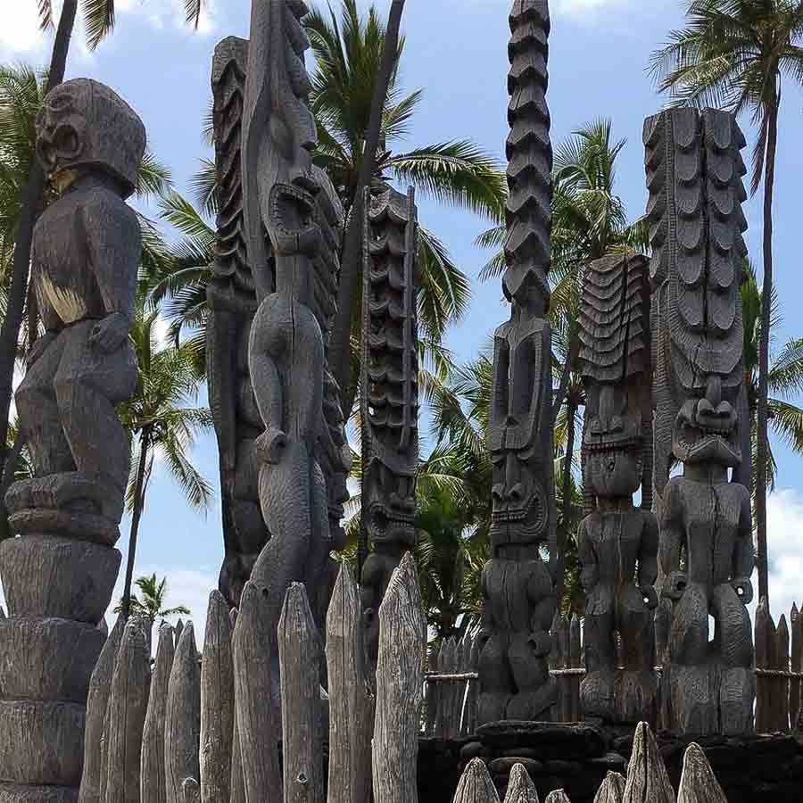 Explore the Place of Refuge in the Big Island