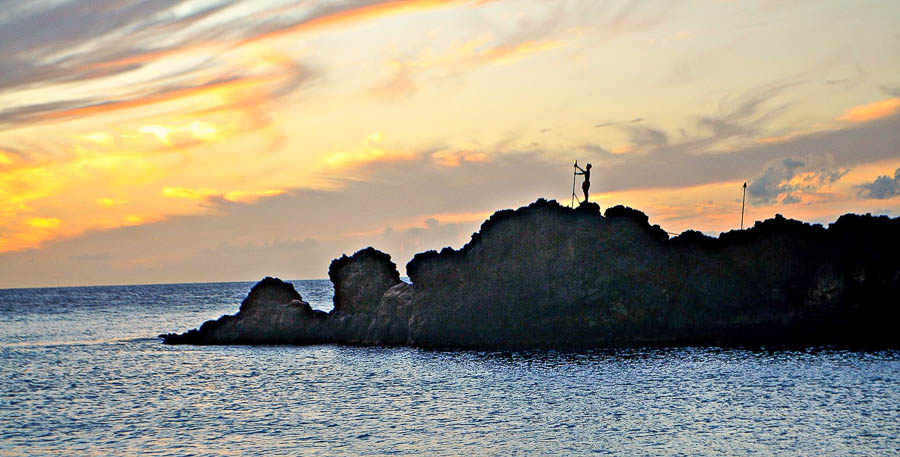 Sunset black rock diving experience