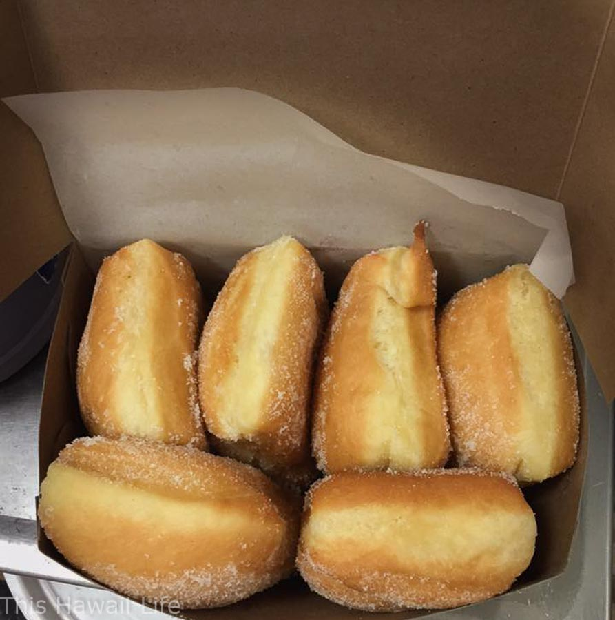 malasadas from Hawaii