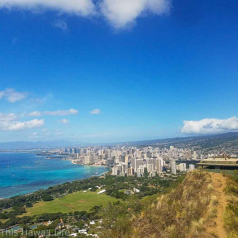 Panoramic views from Diamond Head Crater