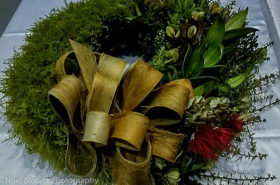 Hawaiian-christmas-wreath