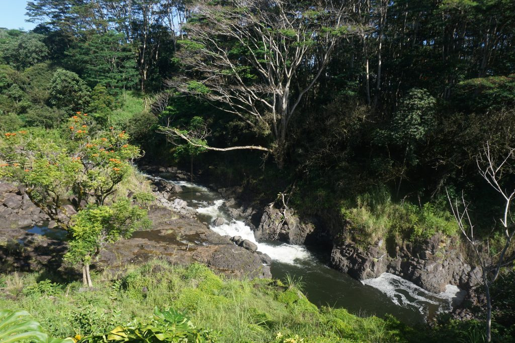 Waterfalls in East Hawaii above Hilo
