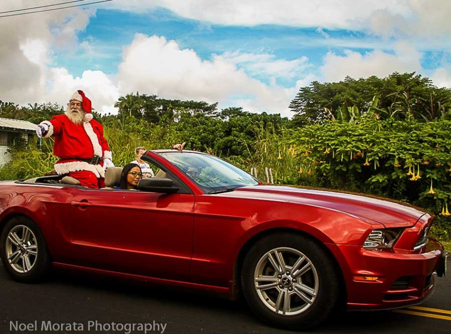 Christmas celebrations in Hawaii