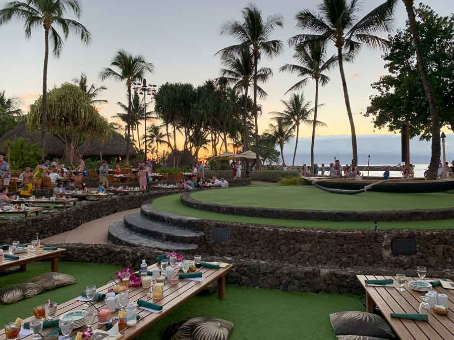 Beautiful Maui luau at Lahaina