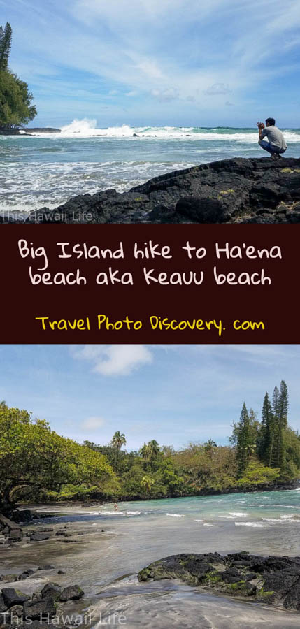 Pinterest Big Island hike to Ha'ena beach