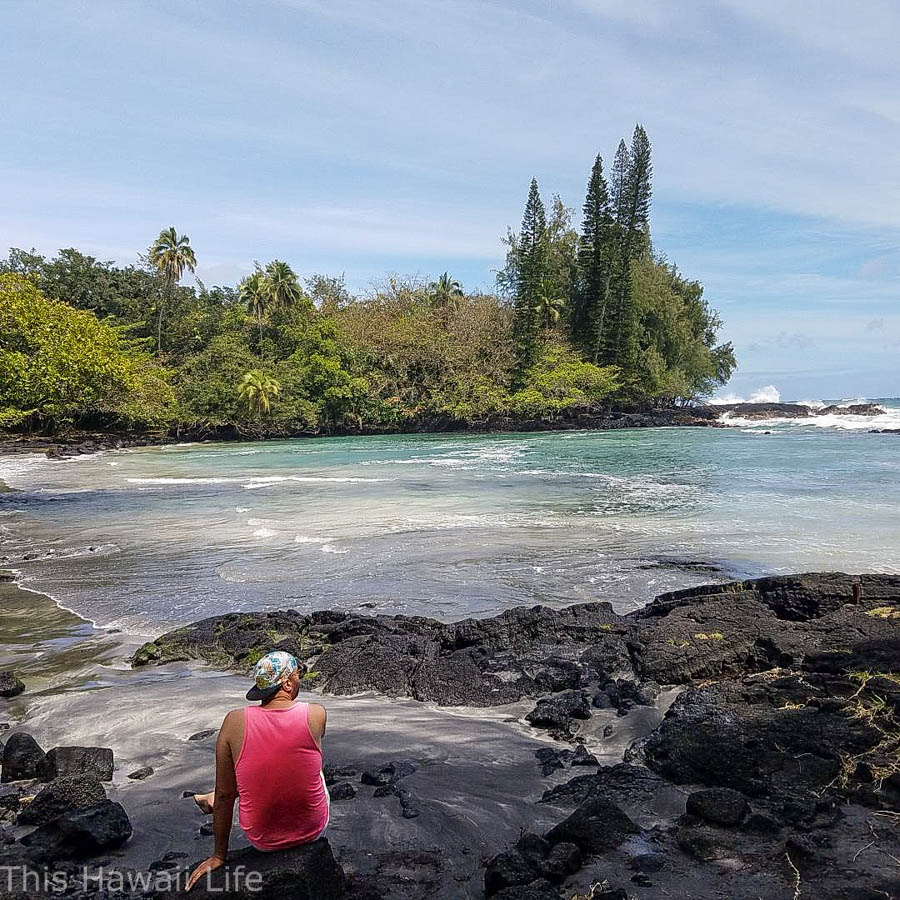 Big Island hike to Ha'ena Beach