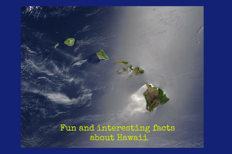 Pinterest Fun and interesting facts about Hawaii