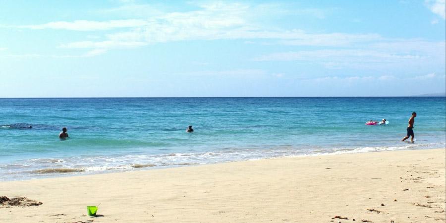 Ka'anapali beach in Maui