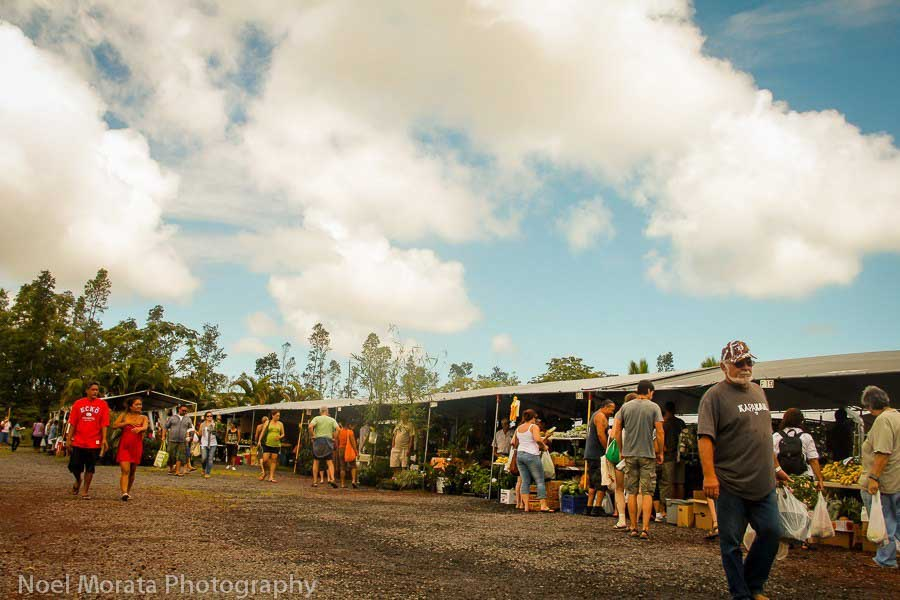 Makuu market on the BIg Island