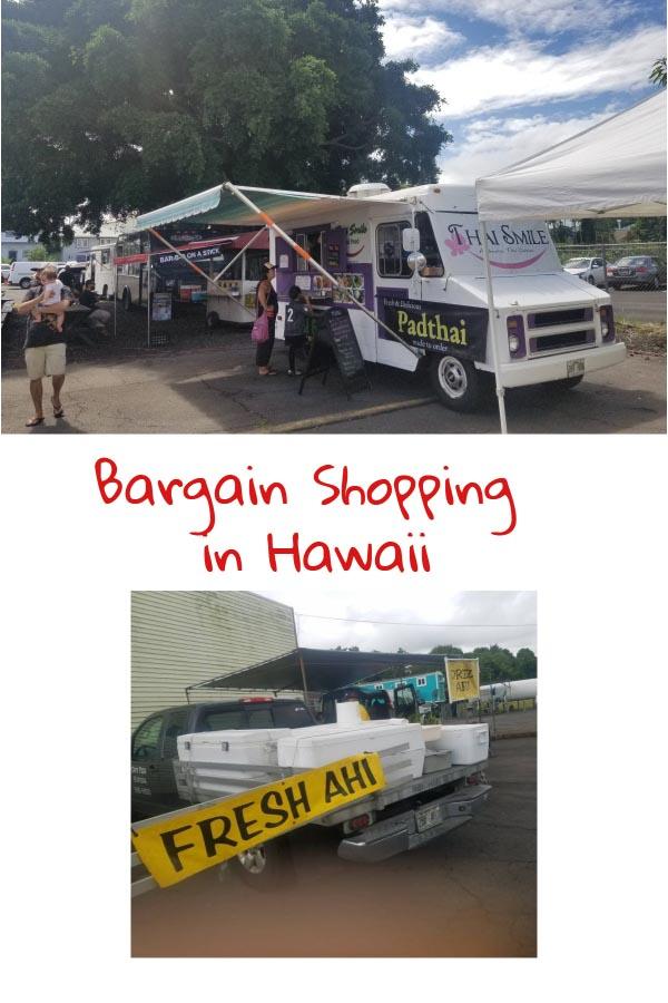 Pinterest bargain shopping in Hawaii