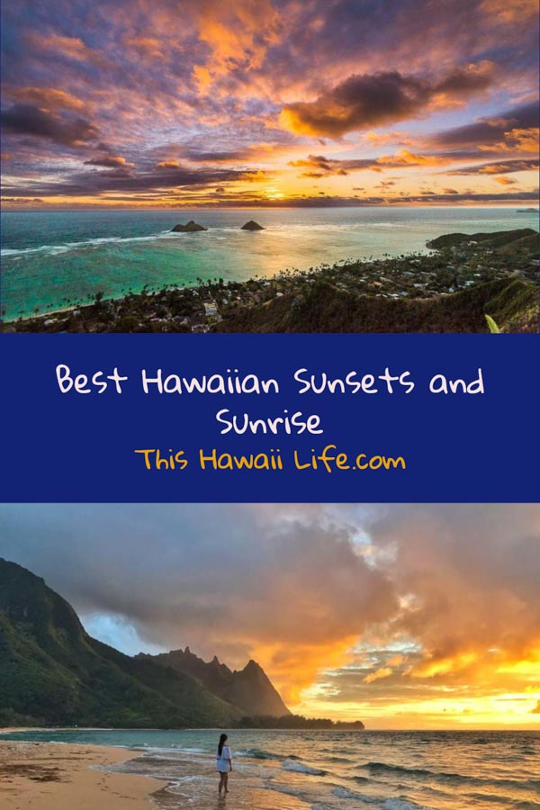 Pinterest Hawaiian Sunsets and Sunrise