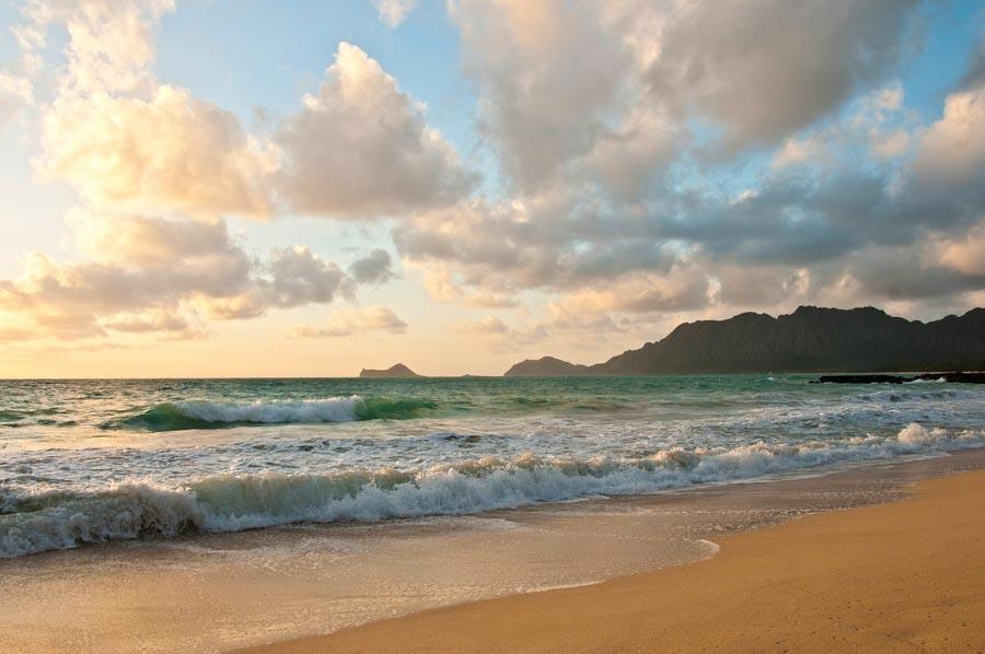 Waimanalo Beach in Oahu