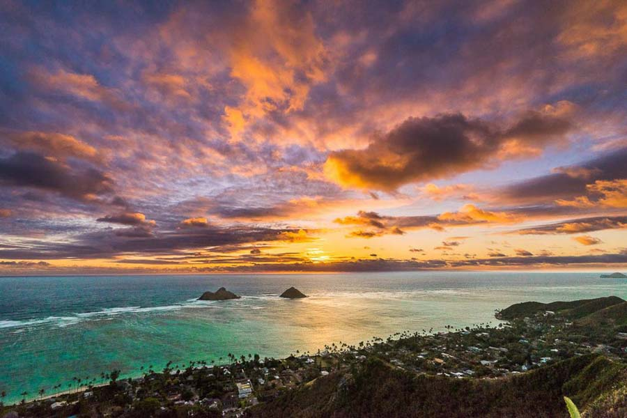 Lanikai Pillbox views for Sunrise experiences