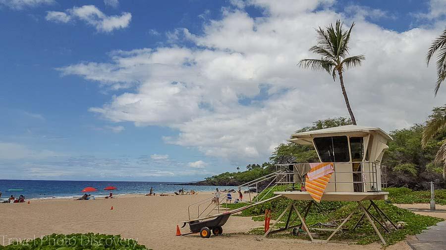 Hapuna beach for Free on the Big Island