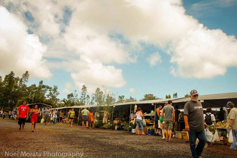Sunday market at Maku'u market on the Big Island