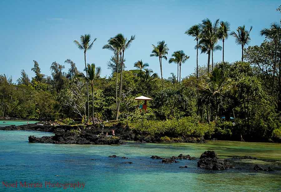 Enjoying Hilo beaches on the Big Island