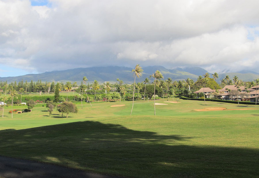 have a golf experience in Maui