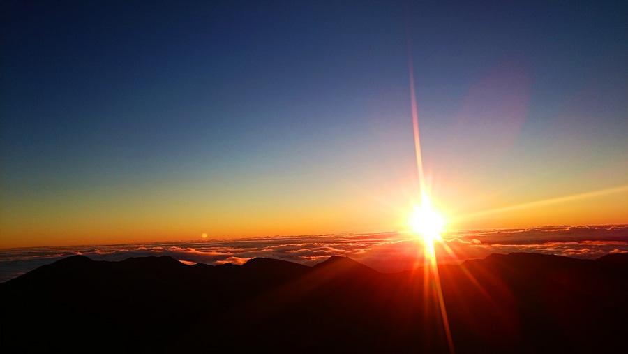 Do the sunrise experience at Haleakala