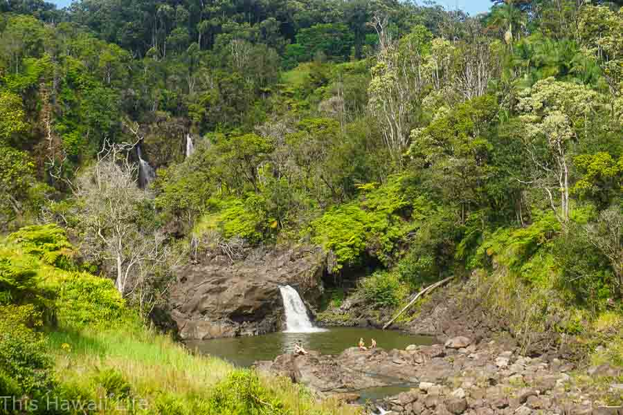 Narnia Spilway and falls an off beaten Big Island Waterfalls secret