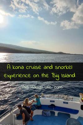 A Kona and snorkel cruise around the Big Island