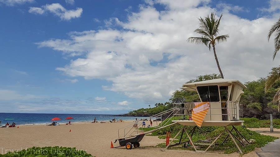 Visit Hawaii in Summer at Hapuna beach