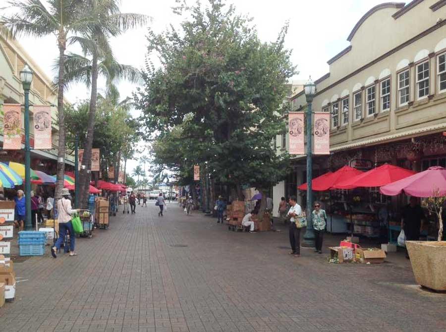 Visiting the Chinatown district around Waikiki