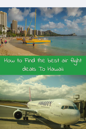 How to find the best air flight deals to Hawaii