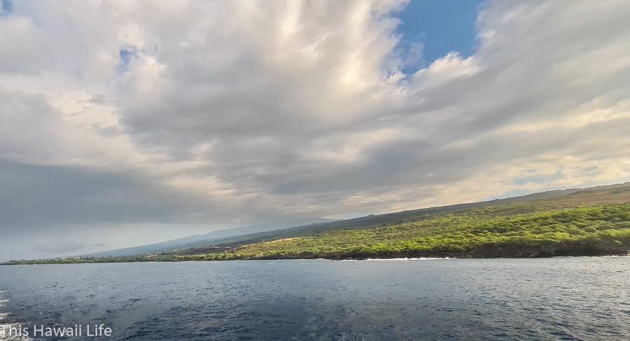 Cruising the Kona coastline areas