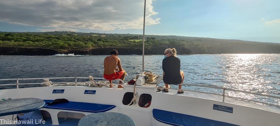 Docking along Red rock marine preserve