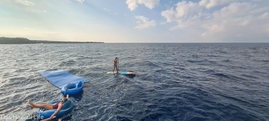 SUP board fun on the Kanoa II
