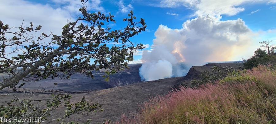 exploring Kilauea and Halemaumau crater