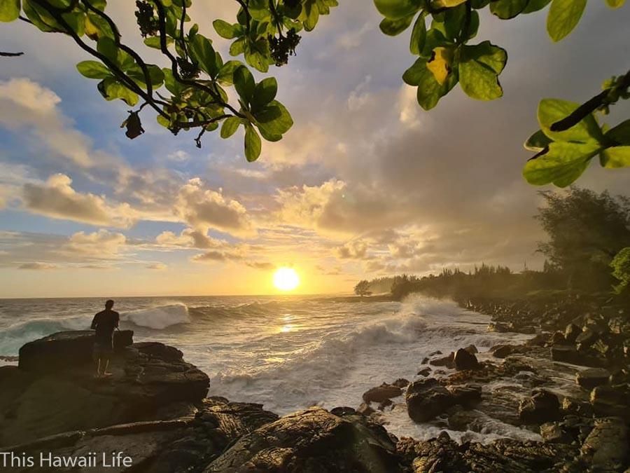 Visit Hawaii in winter and Hawaiian sunrises