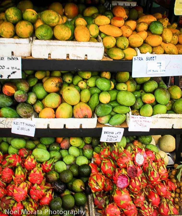 When is fruit season in Hawaii?