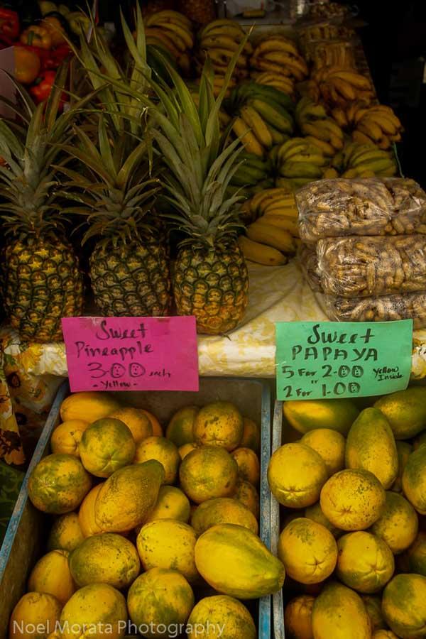 Where to find Hawaiian tropical fruits in Season